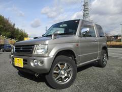 パジェロミニアクティブフィールドエディション 4WD キーレス 社外ナビ