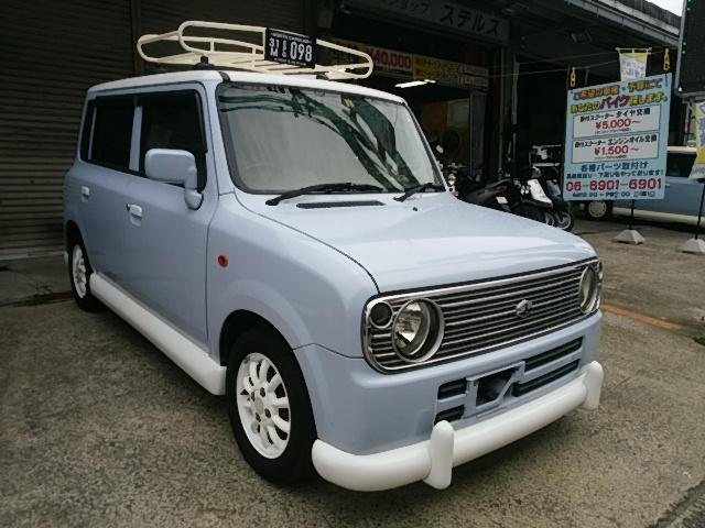 スズキ Lロコマーク製エアロ オリジナルキャリア シートカバー