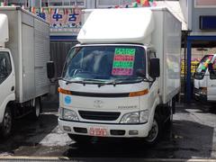 トヨエース2t アルミバンパワーゲート付 NOx適合ディーゼル