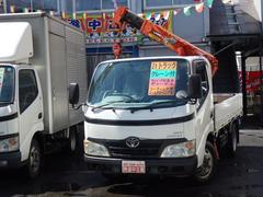 ダイナトラック2tNOx適合ディーゼル2.2t吊ユニック4段ラジコン4WD