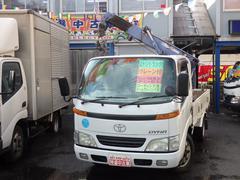 ダイナトラック2t 簡易クレーン 2.2t吊3段ブーム