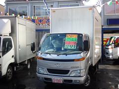 ダイナトラック2t アルミバンパワーゲート付 Nox適合ディーゼル
