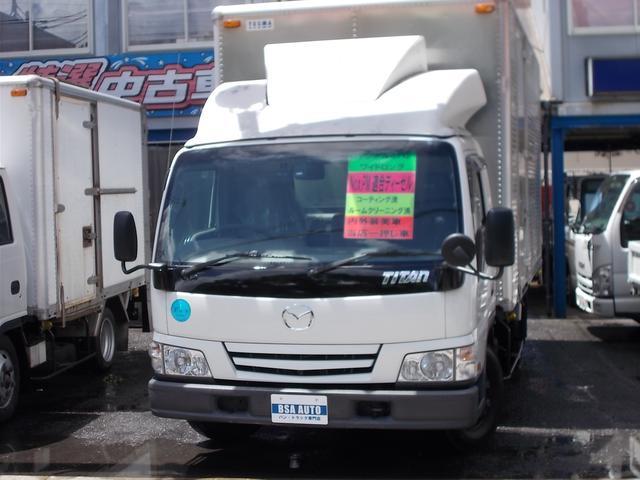 マツダ タイタントラック 3トン ワイドロング アルミバン バックカメラ・ドライブレコーダー付き 6速MT