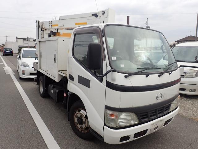 日野 高所作業車 アイチSE08B ワンオーナー