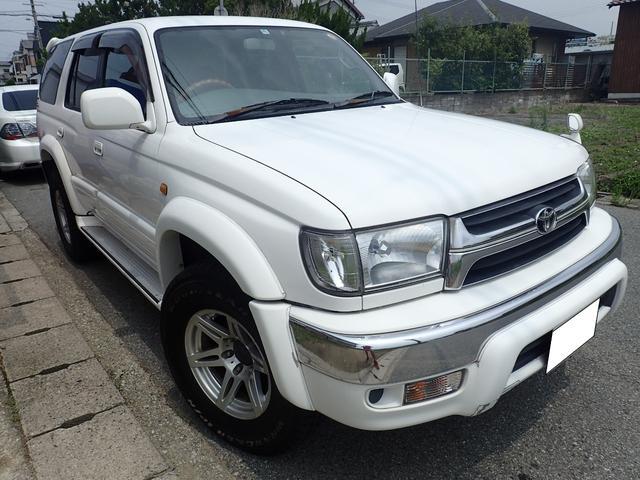トヨタ ハイラックスサーフ SSR-X ホワイトプレミアム 4WD フルセグ ETC