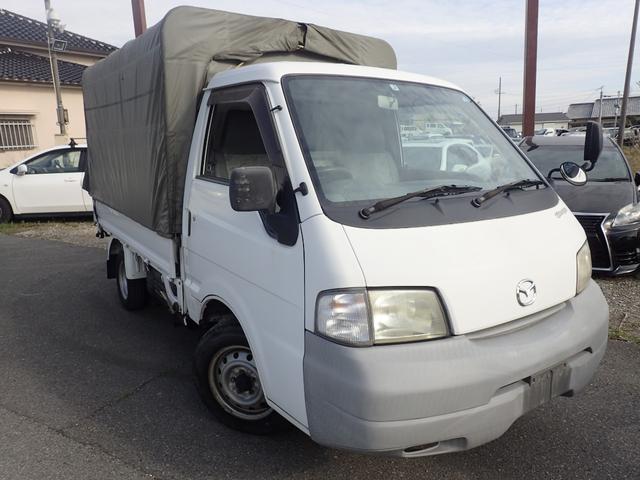マツダ ボンゴトラック DX ETC ホロ リアWタイヤ