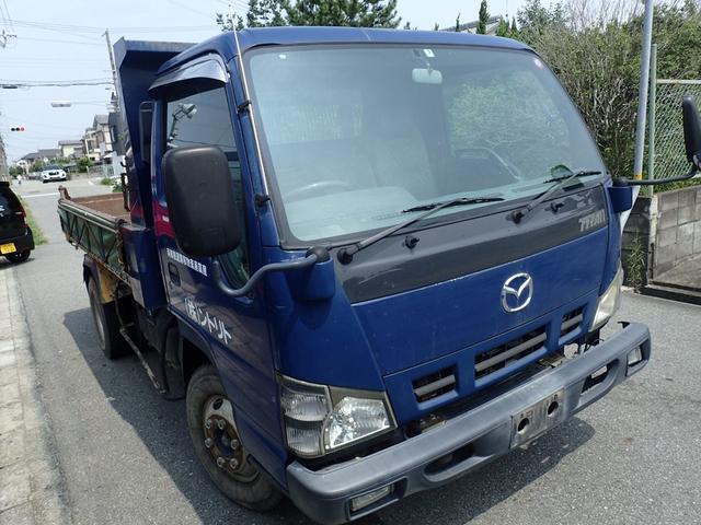 マツダ タイタントラック フルワイドローダンプ ワンオーナー ETC エアバック