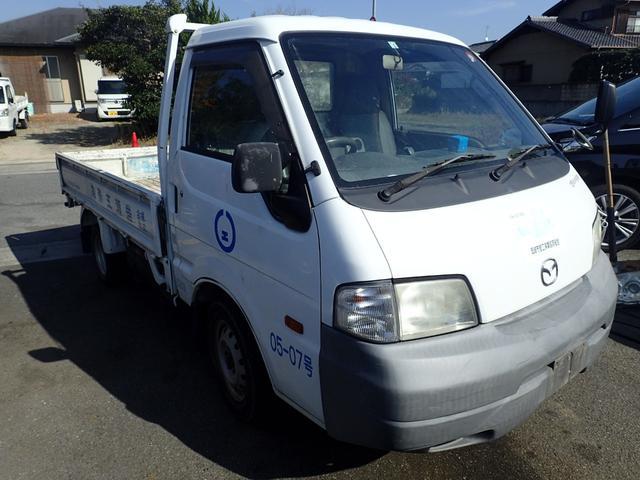 マツダ ボンゴトラック ワイドローDX エアコン パワステ パワーウインドウ ETC 新品シートカバー