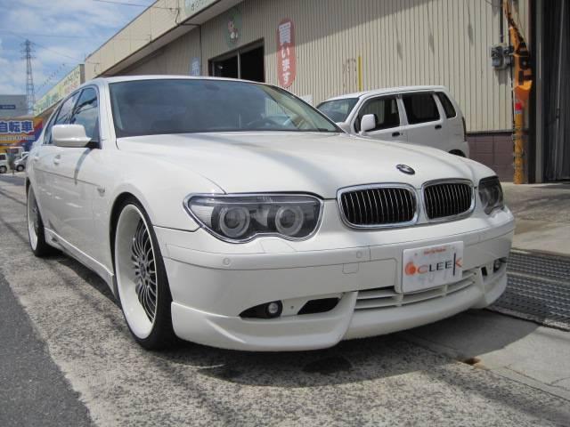 BMW 745i 左ハンドル エアロ 22インチ