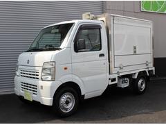 キャリイトラック移動販売冷凍車 3AT エアコン パワステ バックカメラ