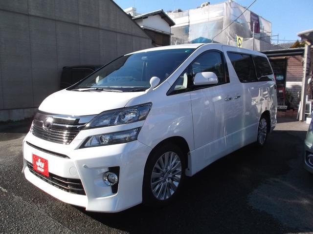 トヨタ 2.4Z G サンルーフ 黒本革シート 純正HDDナビTV