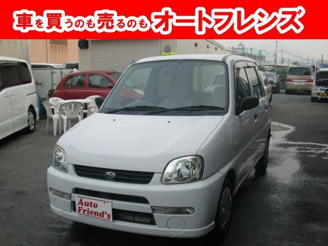 スバル A フル装備4NO登録軽自動車安心整備車検2年付総額16万円