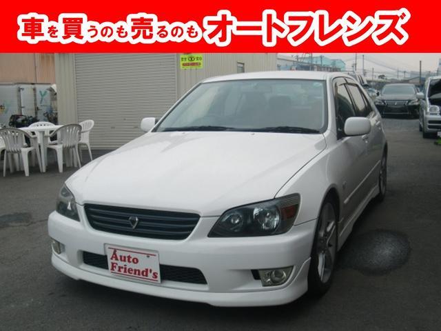 トヨタ AS200LED車高調マフラーTベル済F6速総額49.8万円