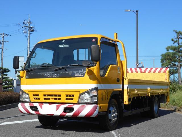 いすゞ エルフトラック フルフラットロー ワイド ロング パワーゲート 積載2t