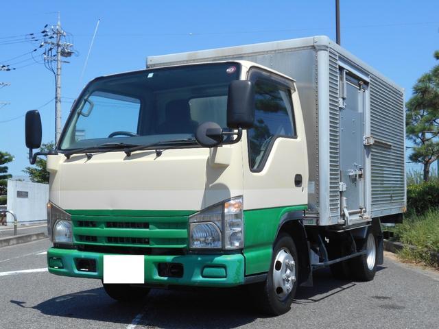 いすゞ エルフトラック フラットロー アルミバン 積載1.5t