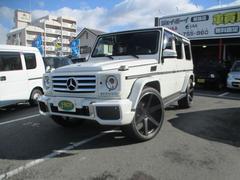 M・ベンツG550 ロング 4WD