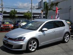 VW ゴルフGTIベースグレード DCCサス バツクカメラ 禁煙車 新車保証書