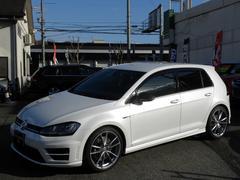 VW ゴルフRカーボンスタイル 限定30台 ワンオーナー 純正19インチ