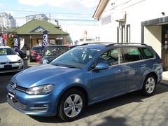 VW ゴルフヴァリアントTSIコンフォートラインBMT ディスプロナビ 新車保証書