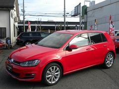 VW ゴルフTSIハイラインBMT ディスプロ リアカメラ 新車保証書