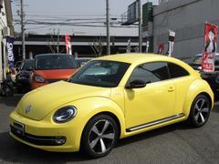 VW ザ・ビートルターボ クールスターPKG 純正ナビフルセグ 記録簿2枚