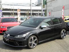 VW ゴルフRベースグレード ワンオーナー 黒革 ディスプロナビ 付属品