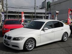BMW323i ハイライン ワンオーナー 社外HDDフルセグ 黒革