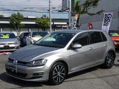 VW ゴルフTSIハイラインBMT ワンオーナー ディスプロ 黒レザー