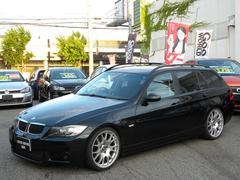 BMW320iツーリング Mスポーツ HDD BBSアルミ 足廻り