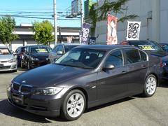 BMW335i ワンオーナー 黒革 純正HDDナビ 記録簿10枚