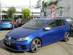 VW ゴルフRベースグレード ディスプロナビ バックカメラ 保証書記録簿