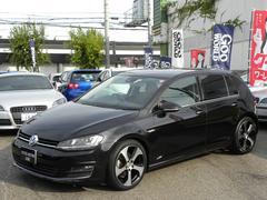 VW ゴルフTSIハイラインBMT ローダウン GTIアルミ 取説保証書