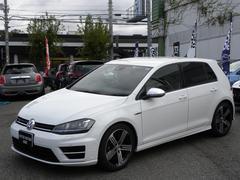 VW ゴルフRベースグレード DCC 黒革 ディスプロナビ 取説スペアキー