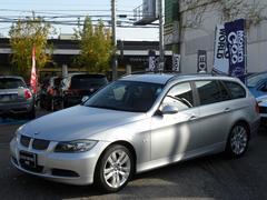 BMW325iツーリング ハイライン 茶レザー 純正HDD 保証書