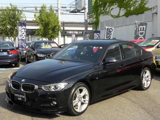 BMW 320i Mスポーツ 6MT 黒レザー アーキュレーマフラー