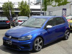 VW ゴルフRベースグレード 7.5R DCC レザー LED 取説付属品
