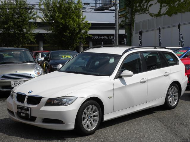 BMW 320iツーリング キセノン ミラーETC スペアキー