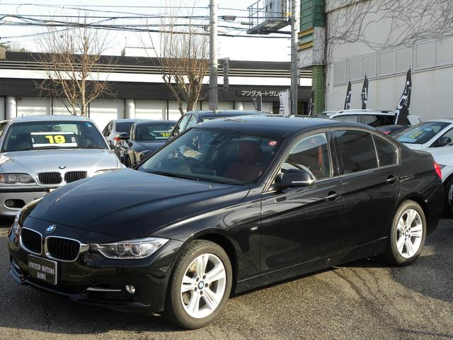 BMW 320i xDrive スポーツ ACC 1オーナー 赤革