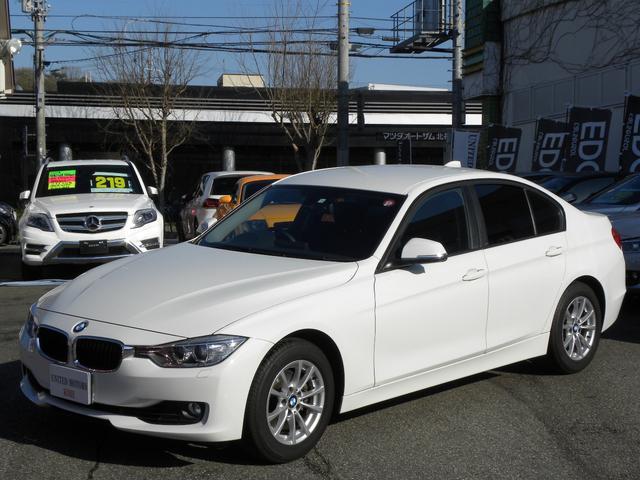 BMW 320i SE ワンオーナー HDDナビ 禁煙車 取説保証書