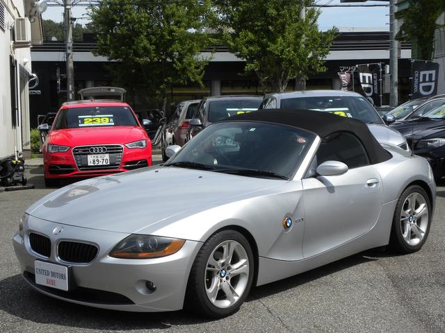 BMW 2.2i カロッツェリアHDDナビ フルセグTV HIDライト 電動オープン キーレス 取説付属品 ストレート6エンジン 正規ディーラー車