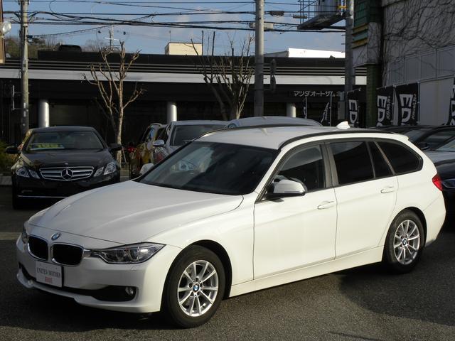 BMW 320dブルーパフォーマンス ツーリング ワンオーナー ディーゼルエンジン 純正HDDナビゲーションidrive バックカメラ Bluetooth ミラーETC メモリー付パワーシート 取扱説明書 保証書 正規ディーラー車 3ヶ月保証付