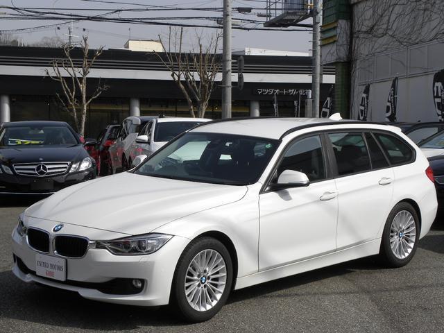 BMW 3シリーズ 320iツーリング ラグジュアリー ワンオーナー 純正HDDナビiDrive バックカメラ クルーズコントロール レーンアシスト キセノンヘッドライト 電動シート ETC 取説保証書 付属品 スペアキー 正規ディーラー車 3ヶ月安心保証