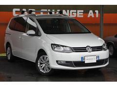 VW シャランTSI ハイラインブルーモーションテクノロジー革 ナビ TV
