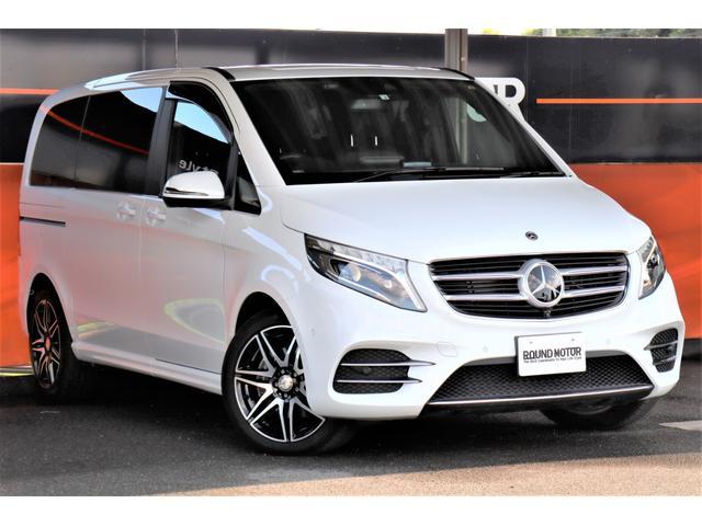 V220d スポーツ 新車保証付 1オ-ナ-・両側Pスライドドア・Pリアゲート・フルLED・LKA・BSA・クルーズコントール・黒革Pシート・シートヒーター・ナビ・TV・ETC・360°カメラ・BT・SD・USB・19AW