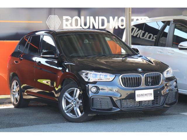BMW X1 xDrive 18d Mスポーツ 1年保証付 1オーナー Pリアゲート ・衝突軽減B・レーンキープ・スマートキー・アイドルストップ・LEDライト・18インチAW・HDDナビ・ミラーETC・Bカメラ・CD・USB・BT・前後ソナー