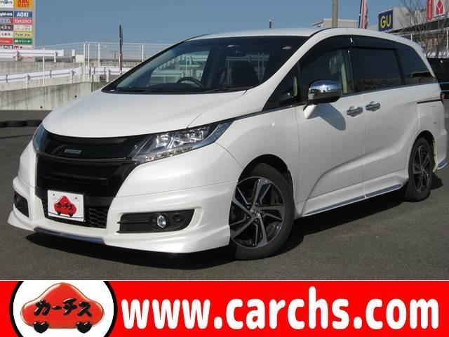 ホンダ アブソX Hセンシング 衝突軽減/後席モニタ/Wパワスラ