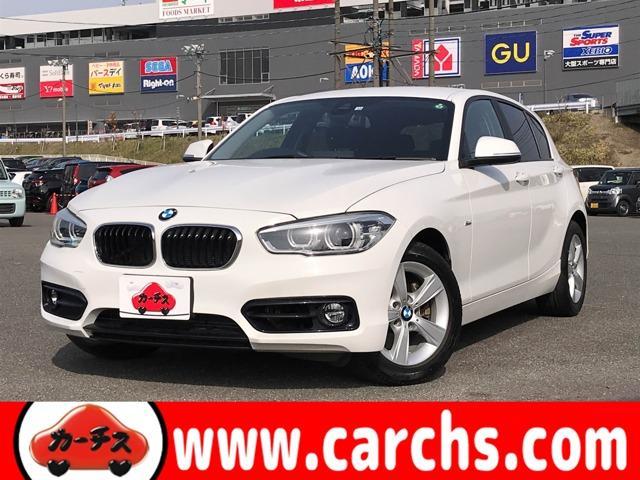 BMW 118d スポーツ 衝突軽減ブレーキ/ナビ・Bカメラ/LEDライト/コーナーセンサー/レーンキープ/ETC/スマートキー/1オーナー/禁煙車/点検記録簿/1年保証付き