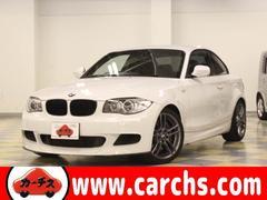 BMW135i 6MT 黒革 Mパフォマフラー18AW 純正HDD