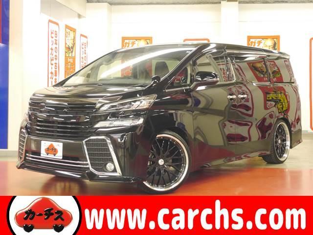 トヨタ 2.5Z AED BLITZ車高調/22アルミ/Wパワスラ