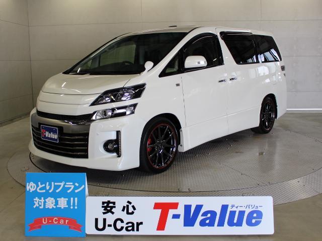 トヨタ 2.4Z G's ムーンルーフ 9型ナビ 後席TV ETC